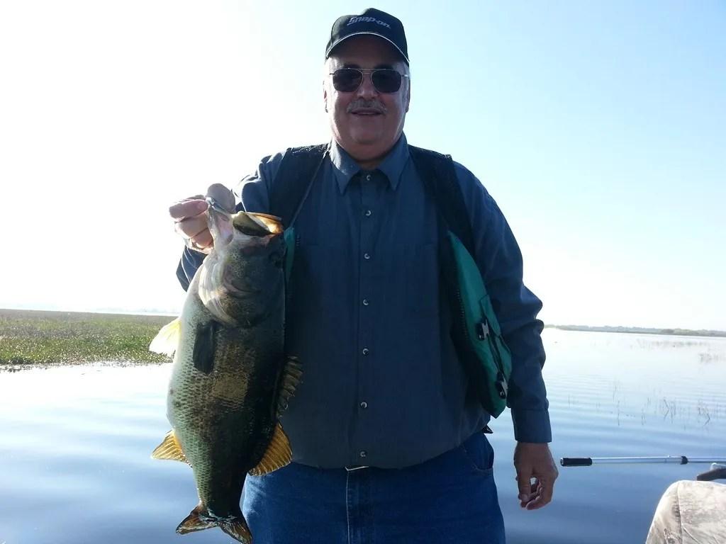 Fishing lake toho with capt john orlando bass fishing for Florida bass fishing guides