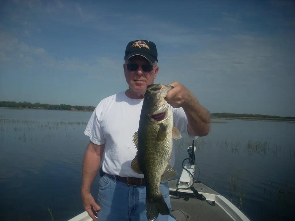 Lake toho with capt kip orlando bass fishing guides for Florida lake fish
