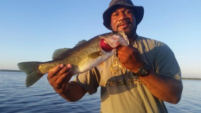 Out On The Pond Bass Fishing With Capt John Leech