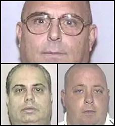 Anthony Moscatiello, top, Anthony Ferrari, left, and James Fiorillo