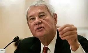 Former Florida Senator Bob Graham