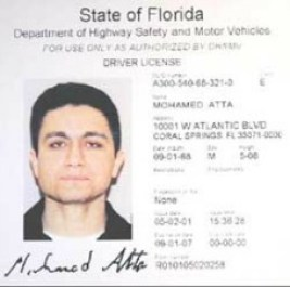 Mohamad Atta Florida driver's license information