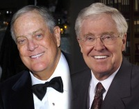 David, left, and Charles Koch