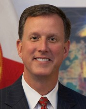 Florida Environmental Protection Secretary Herschel Vinyard