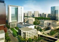 Rendering of the new Broward courthouse now under construction.