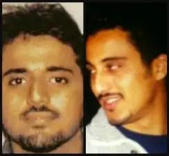Adnan Shukrijumah, left, and Abdulazziz al-Hijji