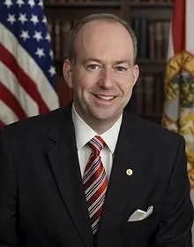 Former Florida Sen. George Lemieux introduced Jordan Zimmerman and Broward Health CEO Dr. Nabil El Sanadi