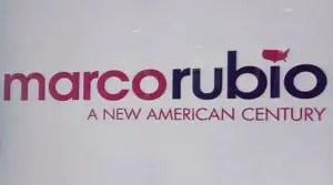 Sen. Marco Rubio's presidential campaign logo
