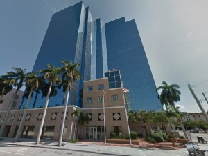 The Broward School Board building in downtown Fort Lauderdale