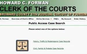 Court Records Request