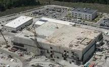 The multi-billion dollar MOX plant under construction near Aiken, South Carolina in 2013