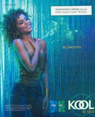 Kool ad from 2006. By then Kool was an R.J. Reynolds brand through a merger with Brown & Williamson Tobacco.