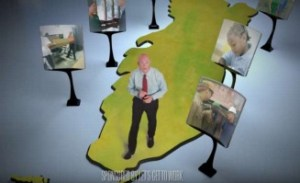 "The Let's Get to Work political group began running this ad featuring Florida Gov. Rick Scott, called ""On the Move,"" in March to help promote the Republican's proposed tax-cut plan. Use of such political groups to push policies, rather than elections, is a new twist on how governors are using political money. Youtube/Let's Get To Work"