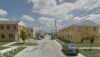 The Liberty Square public housing complex in Miami's Liberty City neighborhood