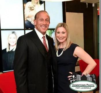 Jordan Zimmerman and Judge Nina Di Pietro. Photo: Downtown Photo, Fort Lauderdale