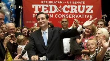 Ted Cruz running for the U.S. Senate in 2012