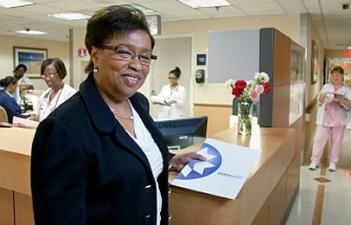 Broward Health Interim CEO Pauline Grant, whose salary will be voted on Wednesday. Photo: Nova Southeastern University