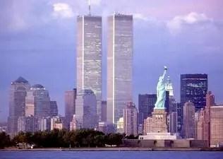 New York's World Trade Center before September 11, 2001