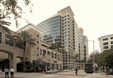 Las Olas Boulevard east of Southeast Third Avenue in downtown Fort Lauderdale.
