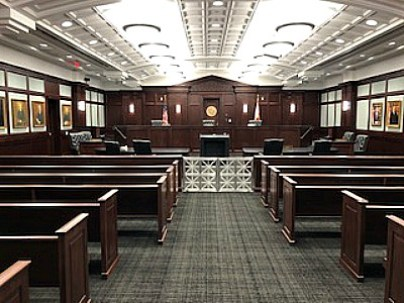 courtroom at the 4th DCA