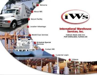 IWS website advertisement