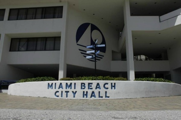 Entrance to Miami Beach City Hall