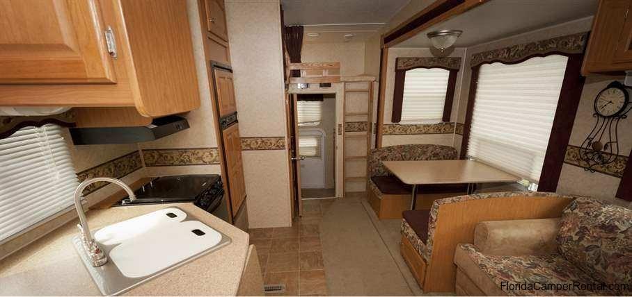 NOW AVAILABLE FOR RENT FORT WILDERNESS 32ft Dutchmen Denali 2 bedroom 2 slides Bunk House