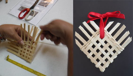 Free Heart-basket Workshop