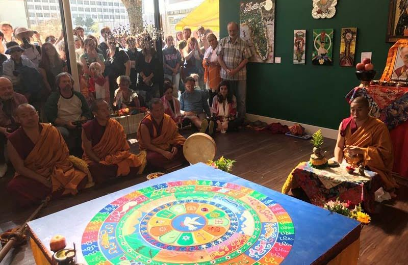 Tibetan Monk Follow-Up – Art and Spirituality