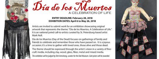 Call to artists Dia de los Muertos