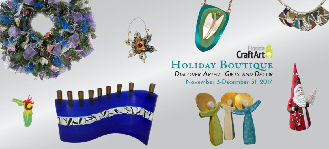 Holiday boutique 2017 art show and gift shopping
