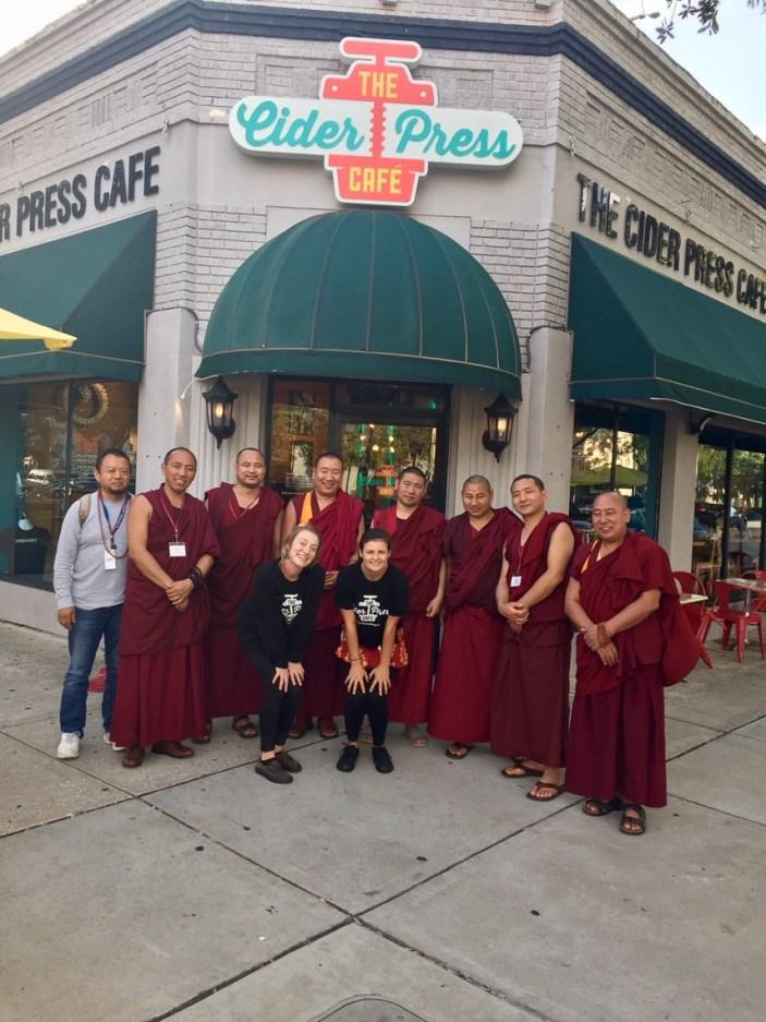 Tibetan-Monks-At-Florida-CraftArt-1