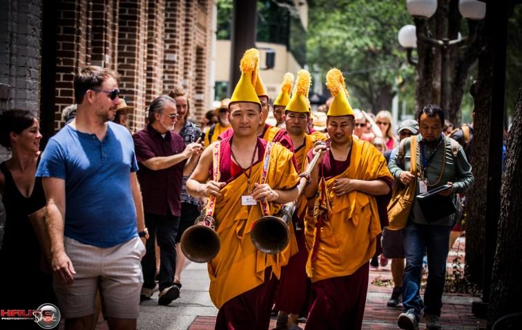 Tibetan-Monks-At-Florida-CraftArt-3070