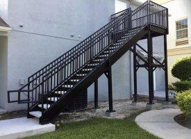 Steel Stairways, Stairs & Railings   Florida Fabrications