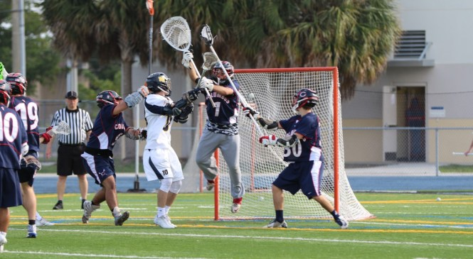 Boca Raton 14-8 Over Columbus Catholic in Battle of Programs Looking to Climb Back