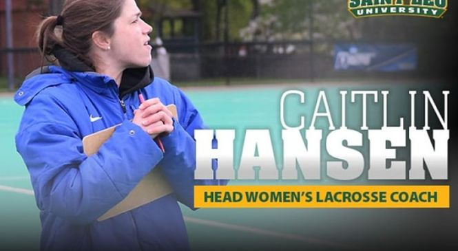 Caitlin Hansen Appointed Saint Leo's New Head Women's Lacrosse Coach