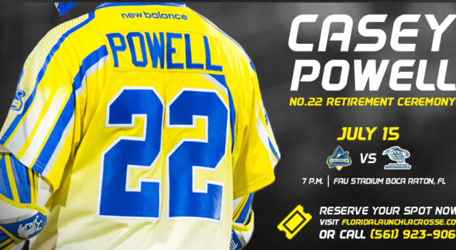 Casey Powell: From Carthage to Lacrosse Immortality