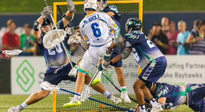 Florida Launch Fall to Chesapeake Bayhawks on the Road 18-10