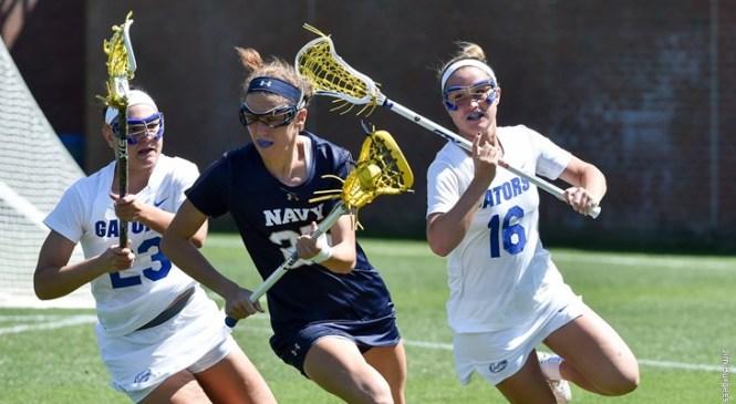 UF Women:  Gators Overcome Eight-Goal Deficit, Defeat #10 Navy 19-16!