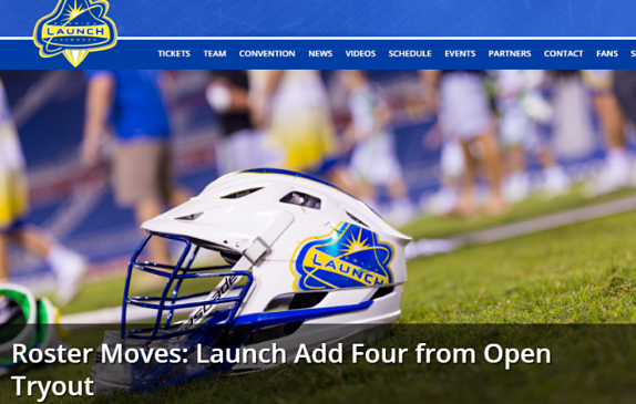MLL:  Roster Moves – Florida Launch Add Four from Open Tryout