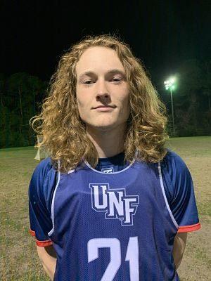 MCLA:  UNF's Mandel Earns PEARL Goalie Honor!