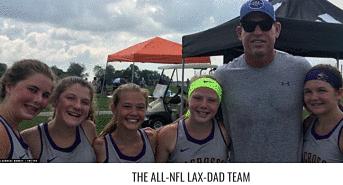 US Lax Magazine:  The All-NFL Lax Dad Team