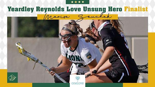 Saint Leo Women:  Marisa Souchak Named Yeardley R Love Unsung Hero Finalist!