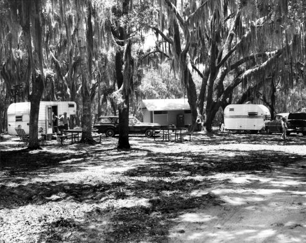 Florida Memory Campground At Lake Griffin State Park