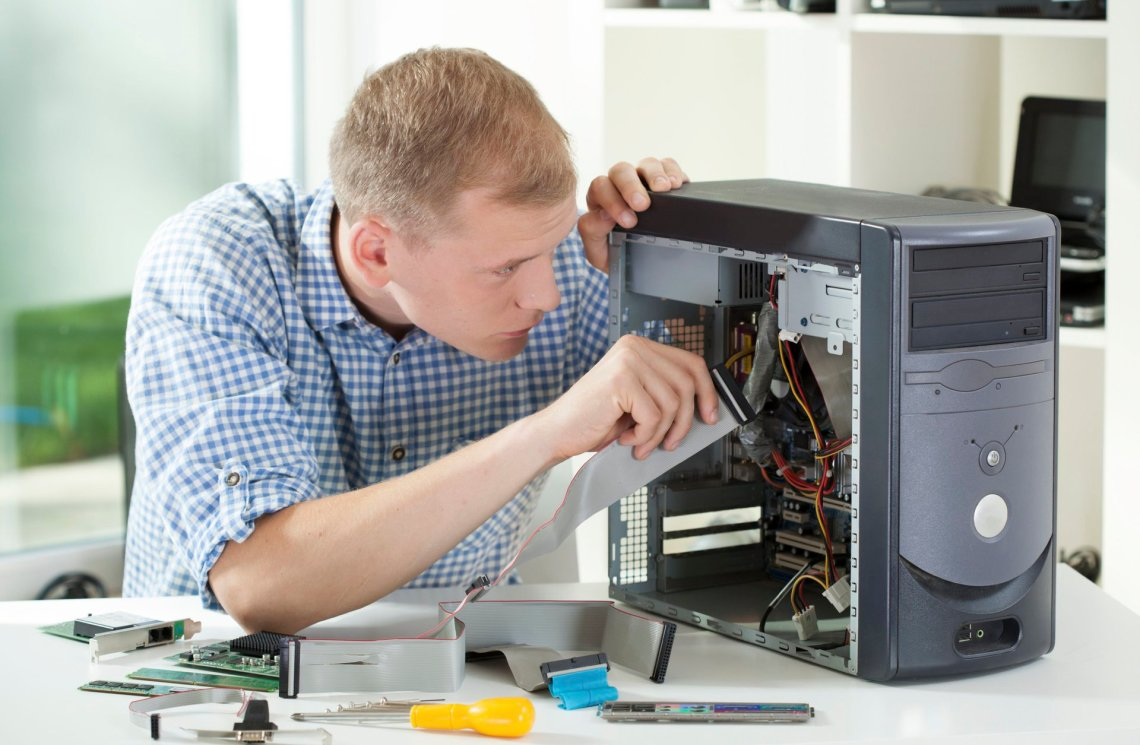Fort Lauderdale FL On Site Computer & Printer Repairs, Network, Voice & Data Cabling Services