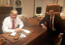 Trump and DeSantis
