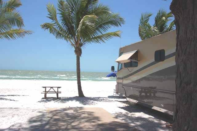 Red Coconut RV Park on Fort Myers Beach