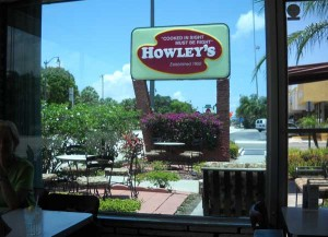 Howley's, an authentic 1950s diner in West Palm Beach, Florida