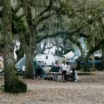 Myakka River State Park campsite