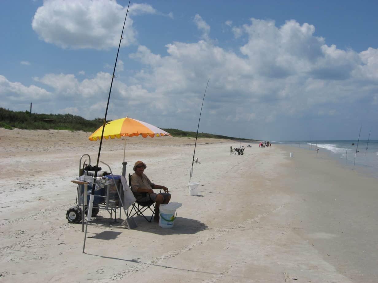 short beach chairs papasan chair frame surf fishing basics family fun at the florida rambler